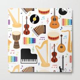 Music Class Metal Print