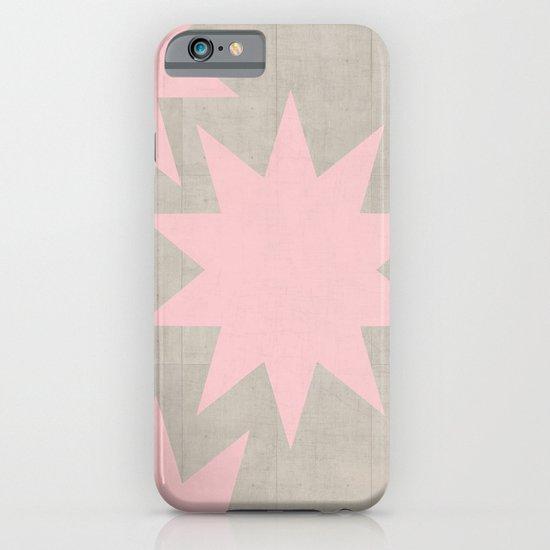 pink stars iPhone & iPod Case