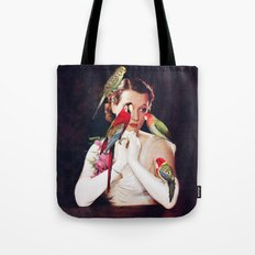 Bird Lady Tote Bag