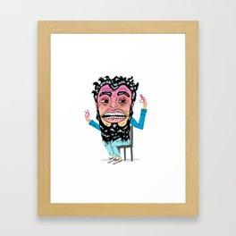 Floss Monster Framed Art Print