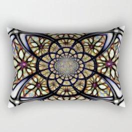 The Art Of Stain Glass Rectangular Pillow