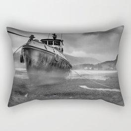 Abandoned on Loch Duich Rectangular Pillow