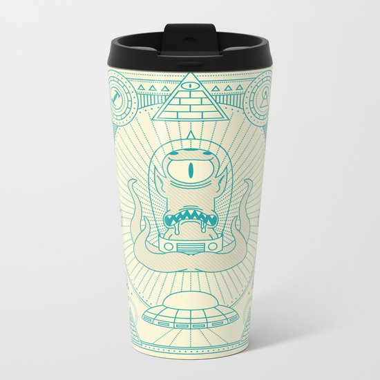 Kang the Liberator  Metal Travel Mug