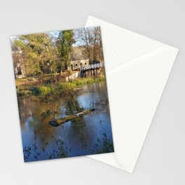 Five Hippies, a Drumcircle and a Mansion Stationery Cards