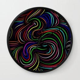 Hair pattern Wall Clock