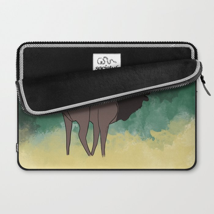 Bull Elk Bugling Laptop Sleeve