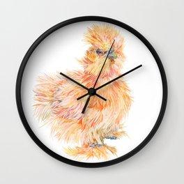 Silkie Chicken - Sweet Potato Wall Clock