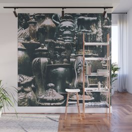 Eclectic Pottery Wall Mural