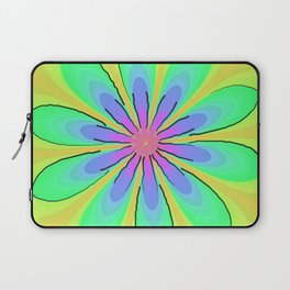 Return to the 70's Psychedelic Laptop Sleeve