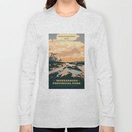 The Massasauga Park Poster Long Sleeve T-shirt