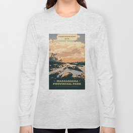 The Massasauga Park Poster Long Sleeve T-shirt