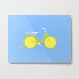 freshly squeezed lemonade Metal Print
