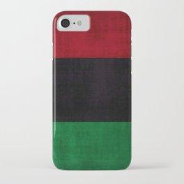 UNIA flag, Afro-American flag, Black Liberation flag Motif iPhone Case