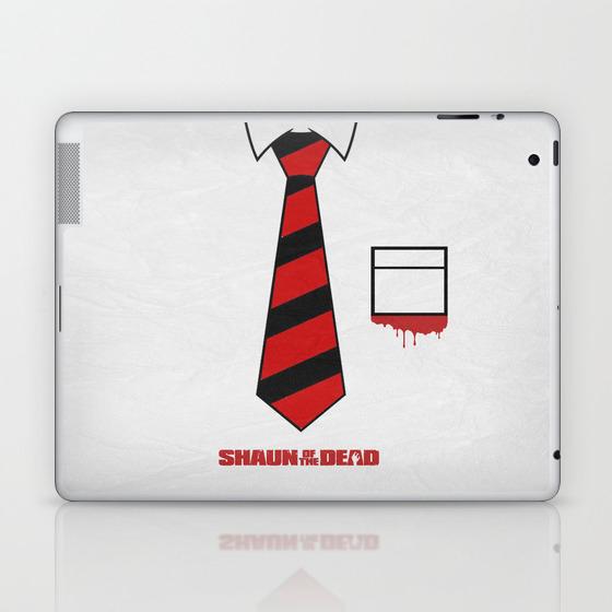 Shaun Of The Dead 01 Laptop & Ipad Skin by Miserym LSK8849737