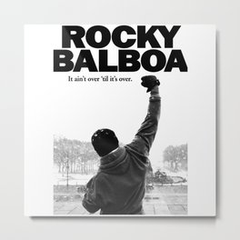 rocky balboa Metal Print