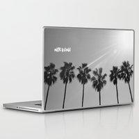nirvana Laptop & iPad Skins featuring Nirvana by morganedavison