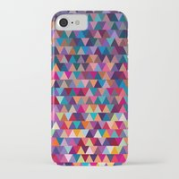 triangles iPhone & iPod Cases featuring Triangles by Ornaart