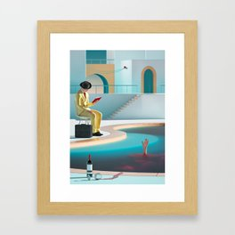 Johnny and Mary Framed Art Print