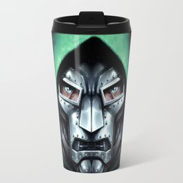 Doctor Doom Travel Mug