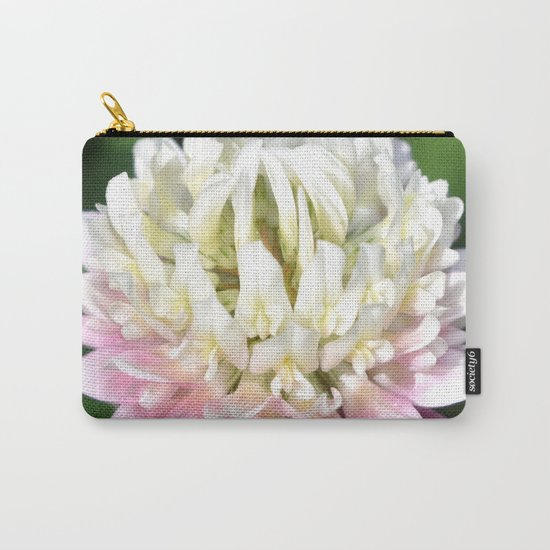 Flower   Flowers   One Clover Flower   Nature Photography   Nadia Bonello Carry-All Pouch