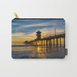 Peaceful Huntington Beach Sunset Carry-All Pouch