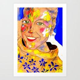 Smile 3 Art Print