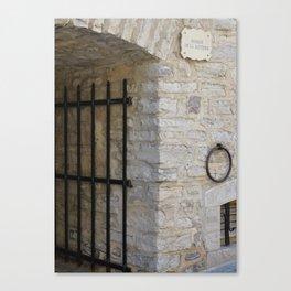Beyond the Gate Canvas Print