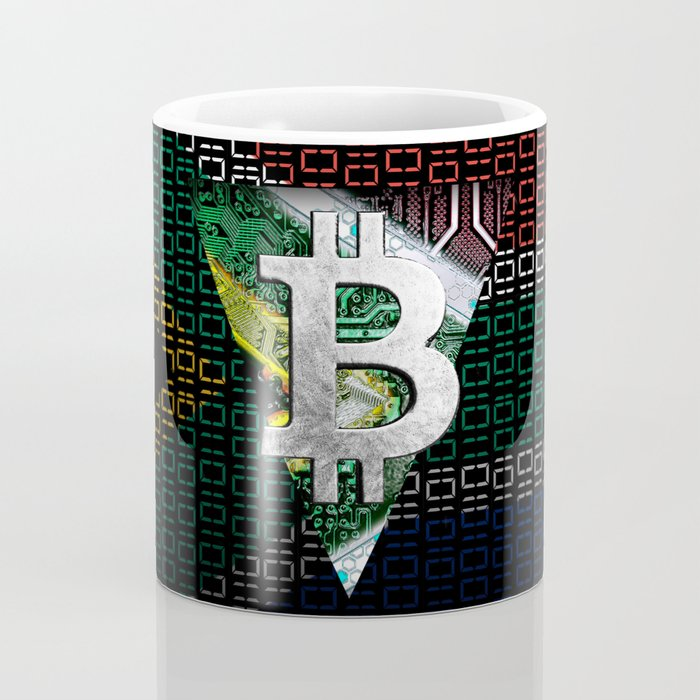 bitcoin South Africa Coffee Mug