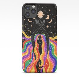 Rainbow Goddess iPhone Case