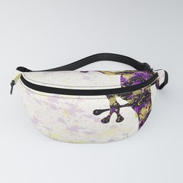 Abstract Lizard Fanny Pack