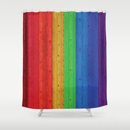 Colours Of The Rainbow Shower Curtain