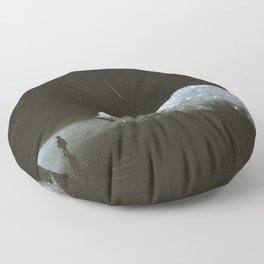retrouvailles Floor Pillow
