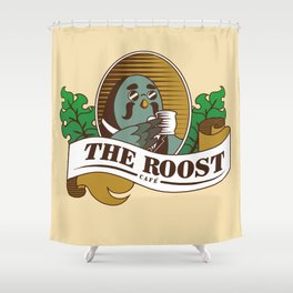 The Roost Shower Curtain