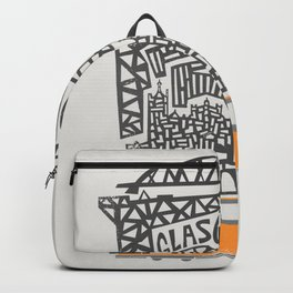 Glasgow Cityscape Backpack