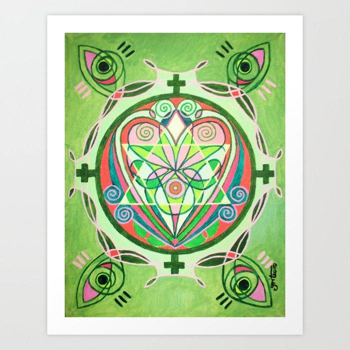 Heart / Süda Art Print