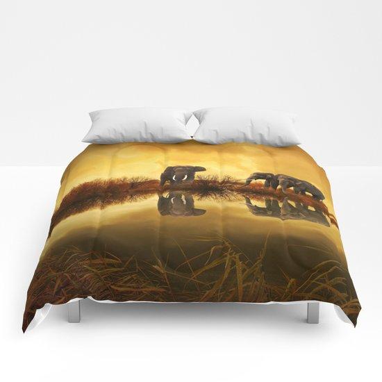 The Herd (Elephants) Comforters