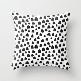 Black Bile Throw Pillow