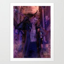 [Bloodmoon] - Kaiden - Dark Fantasy - 3D Render Art Print