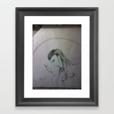 introspection Framed Art Print