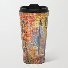 Colorful Autumn Fall Forest Travel Mug