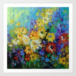 Bright melody Art Print