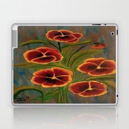 Pansies-2 Laptop & iPad Skin