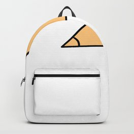 Triangle Acute Funny Flirty Person Gift Backpack