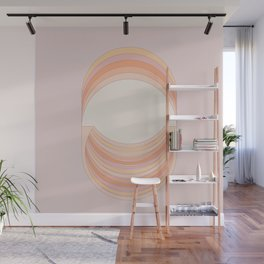 Lilac Folds Wall Mural