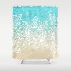 Beach Mandala Shower Curtain
