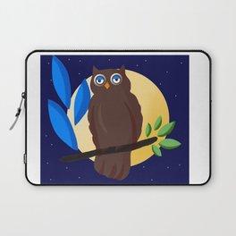 Cute Owl bird Laptop Sleeve