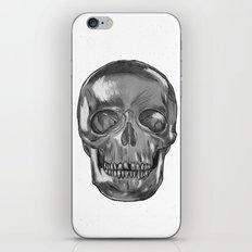 grungy skull iPhone & iPod Skin