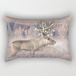Stillness of Winter Rectangular Pillow