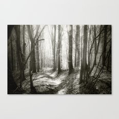 Into the Forest - Nr. 1 Canvas Print