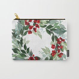 Holly Berry Carry-All Pouch